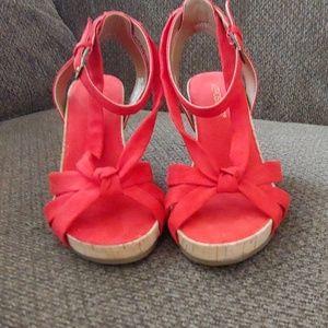 Aerosols fashion wedge sandal